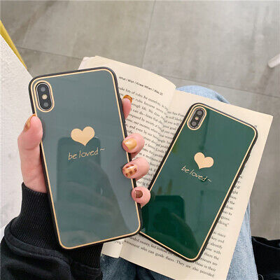 Tempered Glass case Be Loved Heart New Cover for iPhone 6 7 8 XS R 11 pro