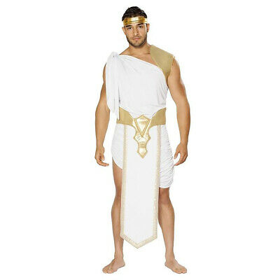 Greek God Costume Robe Mens 3 pc Toga