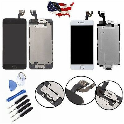 LCD Display Touch Screen Digitizer Assembly Repair for iPhone 5 5S 5C 6 6Plus
