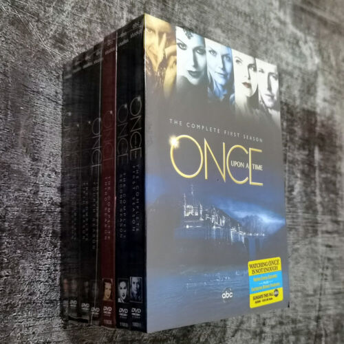Once Upon A Time Complete TV Series(DVD, 35-Disc) All Seasons 1-7 Ships Now !
