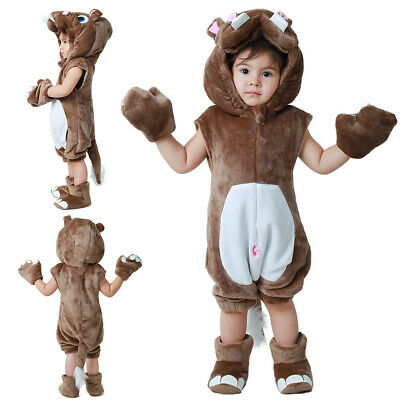 Hippo Costumes for Kids Halloween Costume Animal Mascot Fit Boys - Halloween Costume Costumes