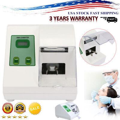 Amalgamator High Speed Amalgam Capsule Mixer Dental Lab Digital 4200rpm