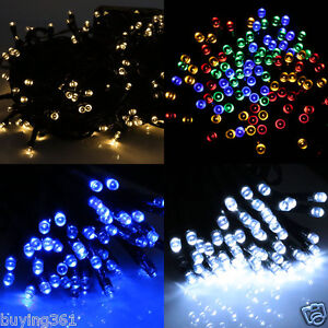 100-200-LED-Strip-Solar-Power-Fairy-String-Xmas-tree-Party-Lights-Garden-Outdoor