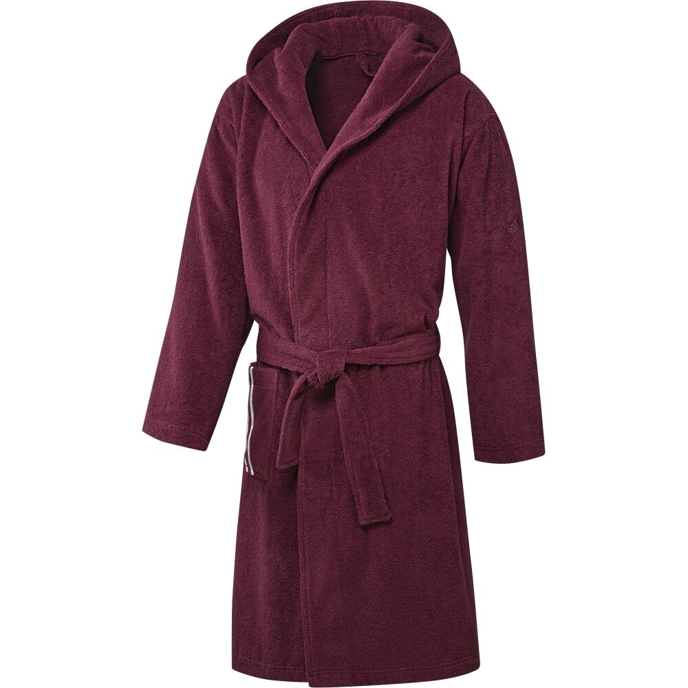 adidas Bathrobe US; Damen Bademantel in Größe XL, Baumwollfrottee, Saunamantel