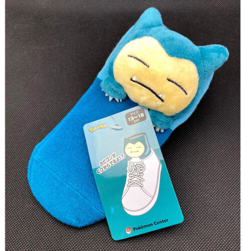 Pokemon Center Original Snorlax Middle Socks with Mascot Japan Import