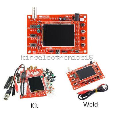 Dso138 2.4 Tft Digital Oscilloscope Acrylic Case Diy Kit Smd Soldered New