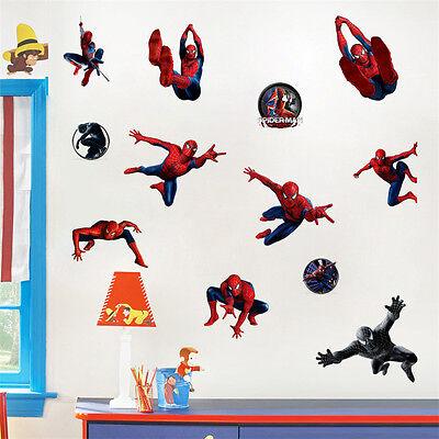 movable WALL STICKERS Vinyl DECAL KIDS Nursery Boys DECOR (Marvel Decor)