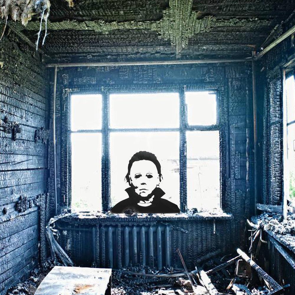 Creative Horror Halloween Window Sticker Diy Removable Decal Living Room Decor Ebay