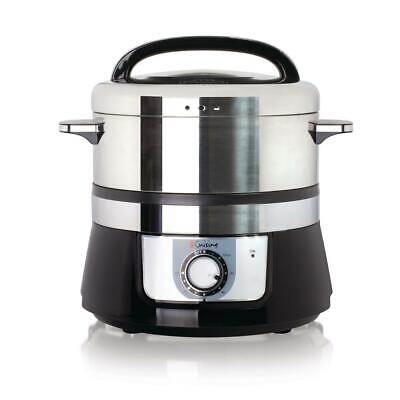 Food Steamer 3.4 Qt. Electric Stainless Steel Rice Cooker Re