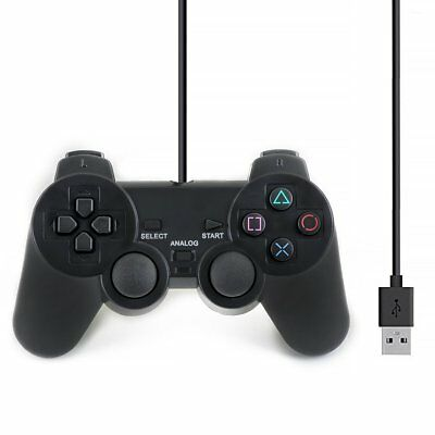 Msonic PS3 PC USB 2.0 Wired Game Controller Gamepad Joypad for Laptop Computer