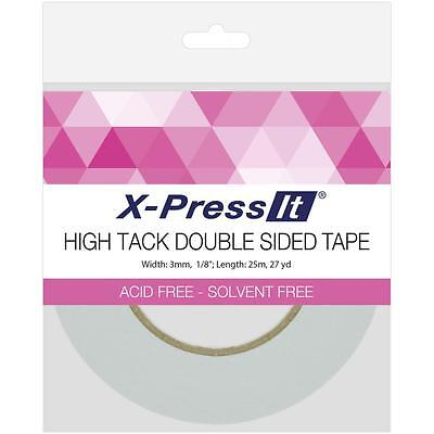 """Copic X-PRESS IT Double Sided High Tack Double Sided Tissue Tape 1/8"""" Wide"""