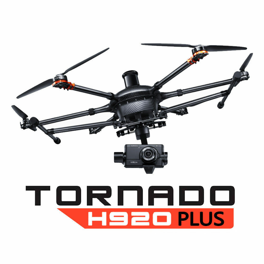 Yuneec Tornado H920+ Plus Drone w/ CG04 Camera, ProAction, ST16, Case RTF