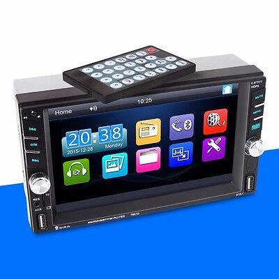 HD Touch Screen Car MP5/MP4 Player Rear View Camera Bluetooth Radio Hands-free Rear View Hands Free Car