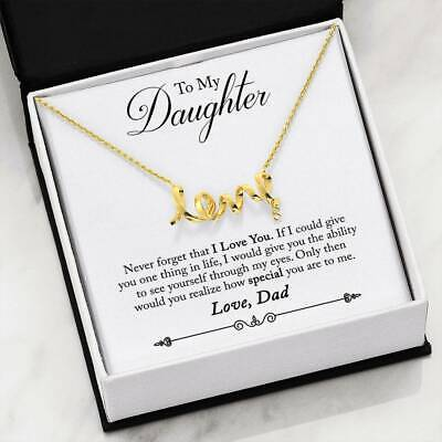 Gift To My Daughter From Dad There For You Special Girl -