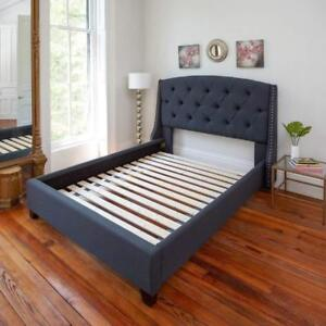 NEW Classic Brands Heavy-Duty Solid Wood Bed Support Slats | Bunkie Board, Queen Condition: New