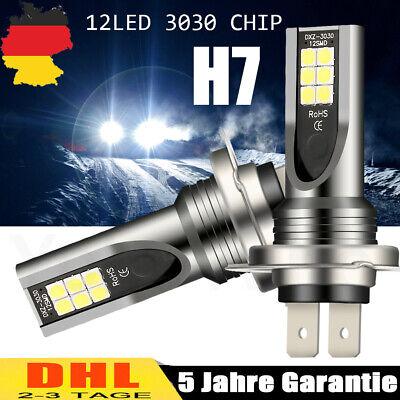 2× H7 LED NebelScheinwerfer Kit Birne HI- LO DRL Weiß Lampen Canbus 6000K Xenon