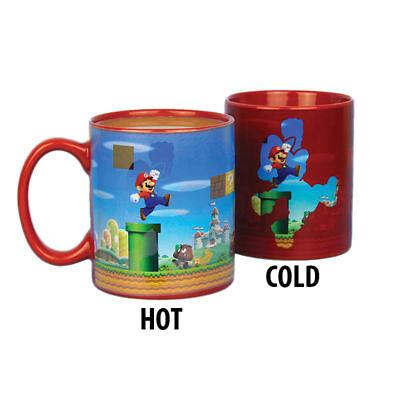Super Mario Bros Heat Sensitive Color Change Ceramic Coffee Mug
