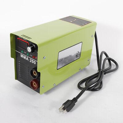 Mma-200 Mini Mma Arc Welder 4.7kva Welding Machine Solder Inverter 110v
