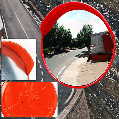 18 Outdoor Wide Angle Security Convex Pc Mirror Road Traffic Driveway Safety Pc