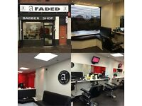 Experienced barber needed who is able to cut all hair types & work in a busy & friendly environment