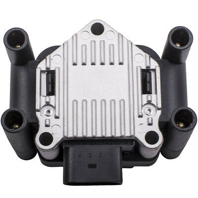 Ignition Coil Pack for Audi A3 A4 Seat Skoda VW Polo Golf MK4 1.4 1.6 032905106B