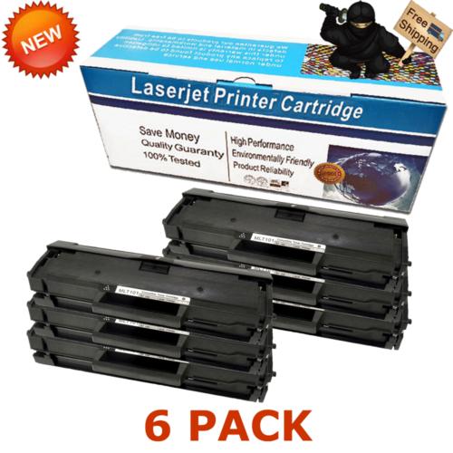 6PK MLT-D101S D101S Toner Cartridge For Samsung ML-2165W SCX-3400F SCX-3405W