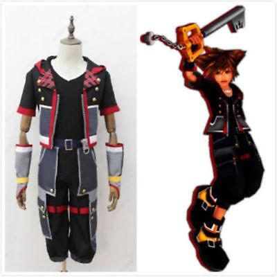 Kingdom Hearts 3 III Sora Cosplay Costume Custom Made - Kingdom Costumes