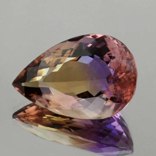 VDO_29.47 Cts_Natural_Ametrine_Bolivia_Vivid Purple Yellow Hue_Pear Cut_2p350
