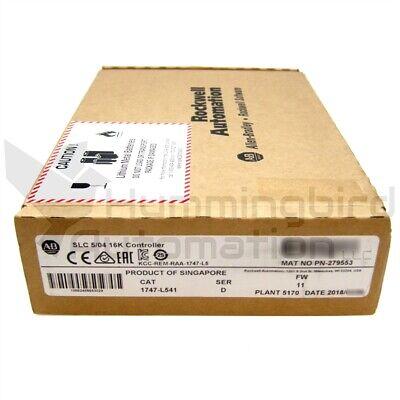 2018 New Sealed Allen Bradley 1747-l541 D Frn 11 Slc500 Plc Processor 504