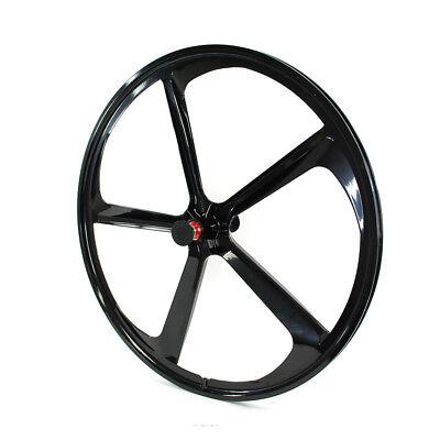 700c 5-Spoke Fixie Fixed Gear Single Speed Bike Front Mag Wheel Rim ( Black - Fixie Fixed Gear Single