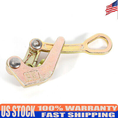Alloy Multifunctional Cable Wire Rope Haven Grip Puller Pulling Tool 2204lbs Usa