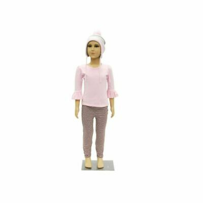 Realistic Kids Mannequin 4-6 Year Old Plastic Mannequin With Base And Wig
