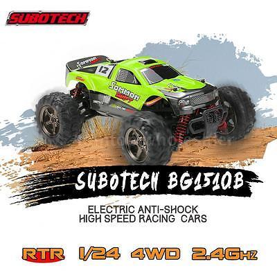 1/24 40KMH SUBOTECH CoCo-4WD BG1510B 2.4G Racing RC Off-road Car RC Racing Car