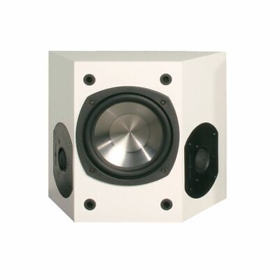"White Phase Tech 6.5"" V Surround Sound Speaker Series 2 8Ohm Home Audio"