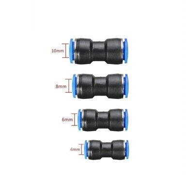 40pcs Straight Push Quick Release Pneumatic Connectors Air Line Fittings