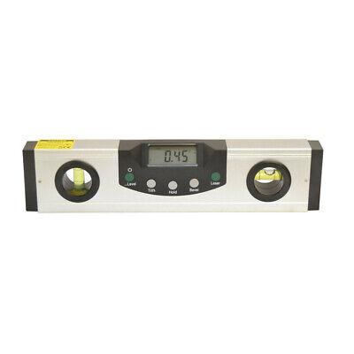 """9"""" Digital Laser Level Angle Finder Incline Protractor Magnetic Base"""