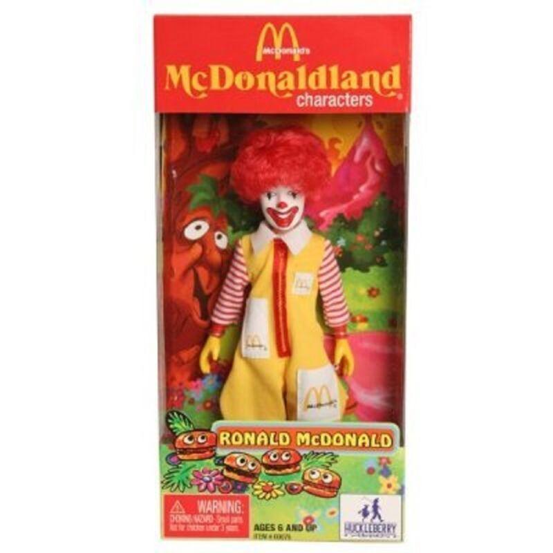 """Mc Donald""""s  Mc Donaldland Characters Ronald Mc Donald Action Figure"""