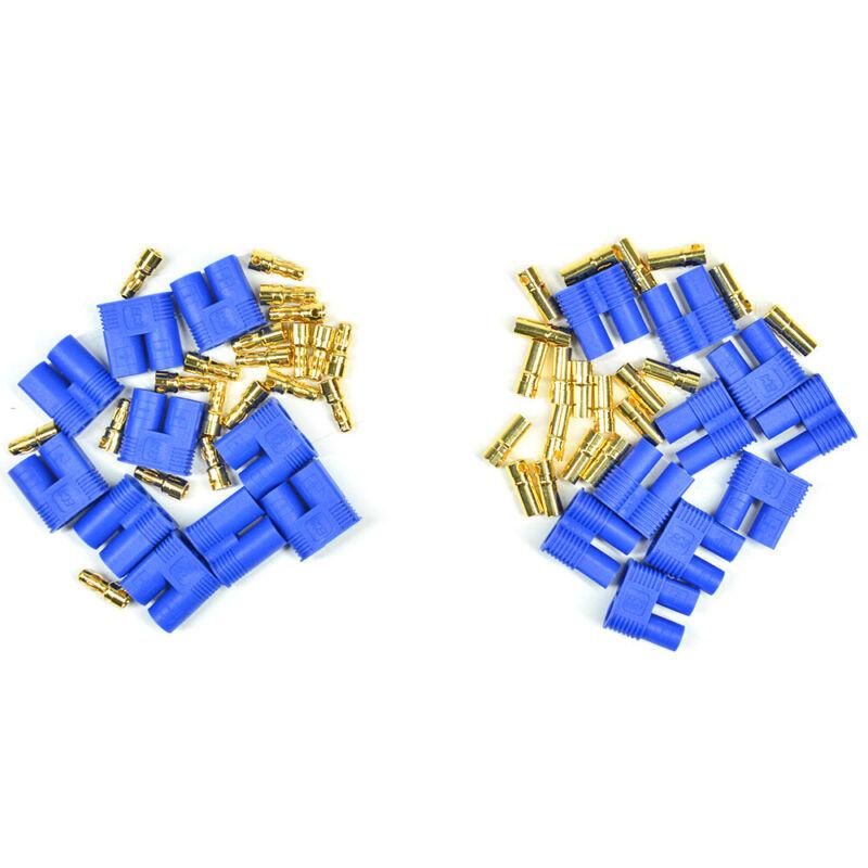 20 Pcs EC3 Male Female Device Connector Plug + Gold Bullet Copper Connector 3mm