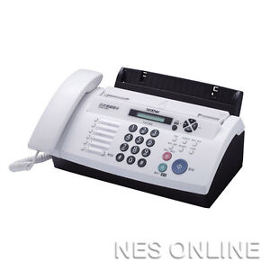 Brother FAX-878 Fax Machine Thermal Transfer FAX Up to 20 Page Memory + ADF Duet