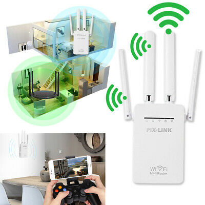 WiFi Range Extender Internet Booster Network Router Wireless Signal Repeater USA Wifi Signal Booster Wireless Network