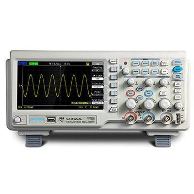 Atten Ads Ga1062cal Digital Storage Oscilloscope 60mhz 1g 2 Channel
