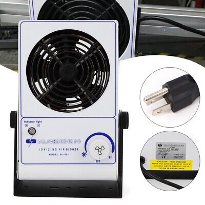 Antistatic Ionizing Air Blower Ion Fan Anti-static Ionized Airflow 45110cfm Us