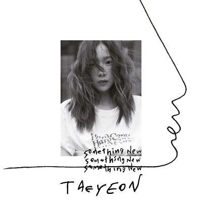 TAEYEON - Something New (3rd Mini Album) CD+Folded Poster+Free Gift+Tracking no.