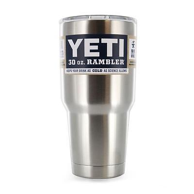 YETI 30 oz Stainless Steel Tumbler NEW - Colster - Rambler  FREE SHIP!!