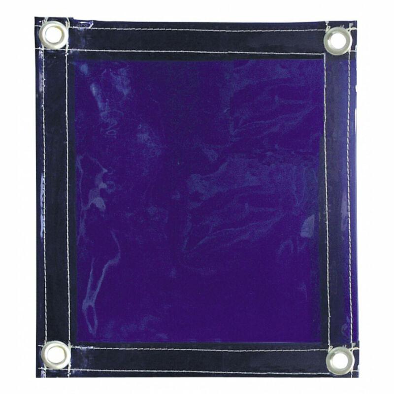 Tillman 604R68 6x8 ft Transparent Blue Vinyl Welding Curtain