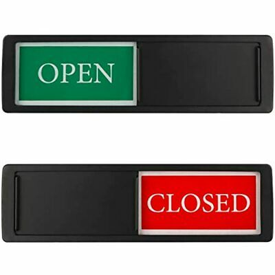 Privacy Sign Open Closed Slide Door For Office Store Private Studio Surgery And