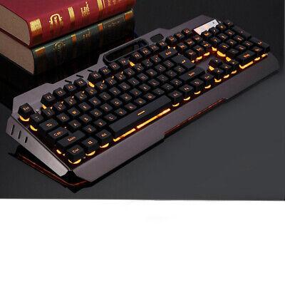 Computer Desktop Gaming Keyboard and Mouse Mechanical Led Light Backlit Best