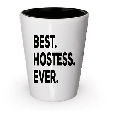 Hostess Shot Glass - Hostess Gifts For Women Men - Ideas For Gift Bags Set... ()