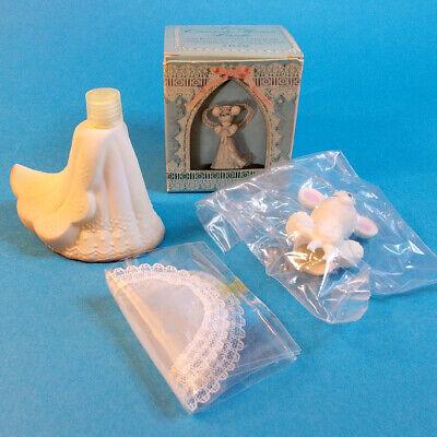 Vtg 1970s Avon CHURCH MOUSE BRIDE Delicate Daisies Cologne 2 oz Full NOS