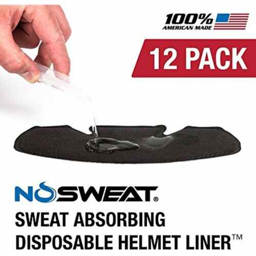 Masks & Shields Hockey Helmet Liner -- Moisture Wicking Sweatband Absorbs Helps